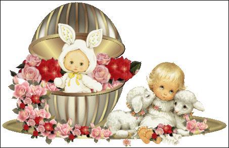 Dieu décida que le printemps arriverait pour Pâques, et que sur la plage on sortirait les rabanes, et ...