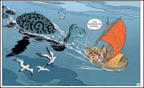 """C'est le monstre du Loch dans """"Astérix chez les Pictes"""". L'adjectif """"énorme"""" lui est souvent attribué. Pour Obélix c'est une grosse loutre. Il porte le nom de..."""