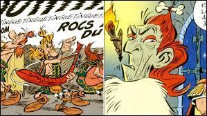 Quel est le nom de ce personnage situé à droite sur l'image ? Petit indice : c'est la caricature de Vincent Cassel. Il s'agit de...