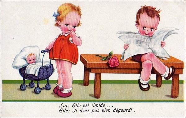 Dieu ordonna à Jean-Claude d'apprendre à lire, et depuis on voit ...