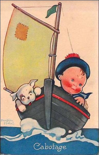 Dieu ordonna à Raymond de conduire le bateau, et depuis ...