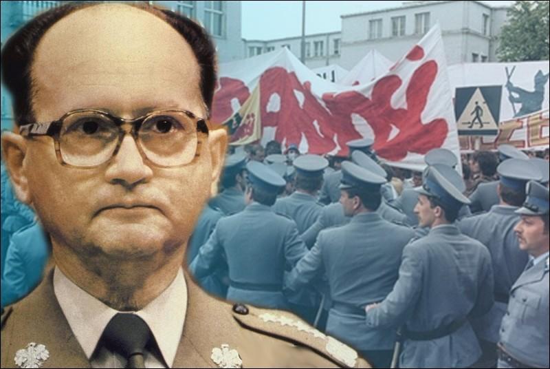En 1981, chef d'Etat de la République populaire de Pologne, il s'oppose au syndicat Solidarnosc, qu'il réprima en décembre en faisant interner des milliers de ses militants syndicaux...