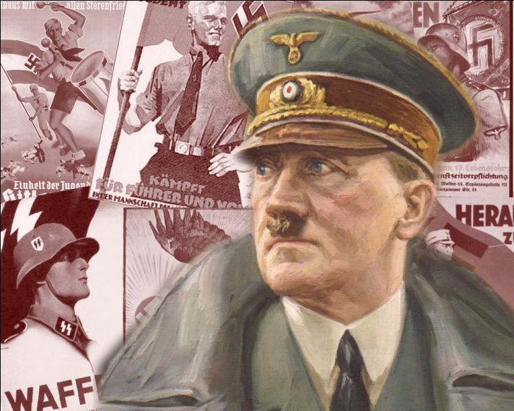 Fondateur du parti nazi en 1921 et dirigeant de l'Allemagne en 1933, à quelle activité Adolf Hitler fut-il initié par son père vers l'âge de 10 ans ?