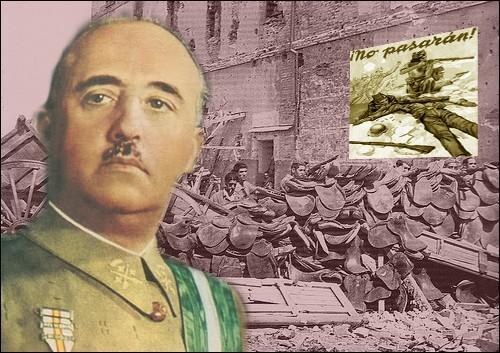 Il a dirigé de 1939 à 1975 un régime politique autoritaire et dictatorial (État franquiste) avec le titre de Caudillo...
