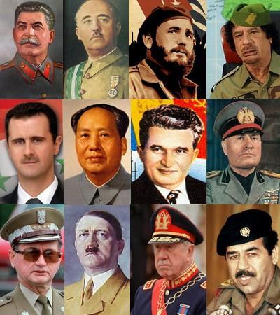 Dictature quand tu nous tiens !