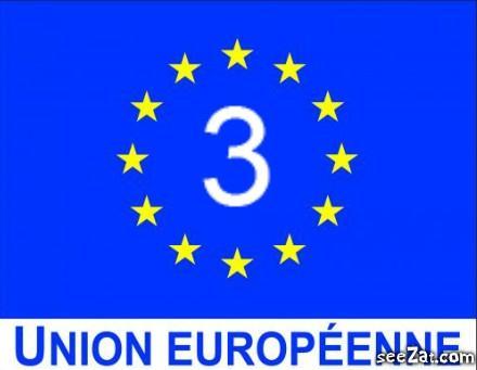 Les drapeaux de l'Europe (3) !