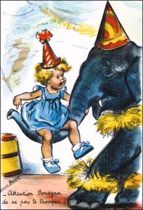Dieu demanda à White d'imiter l'éléphant, et c'est ainsi que ...