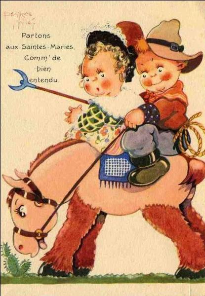 Dieu voulut que Jean mette des fers à son cheval, et alors ...