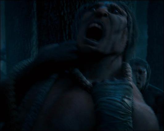 Dans  Harry Potter et l'Ordre du Phénix , Dolores Ombrage lance le sort Incarcerem, sur les centaures de la Forêt interdite. Quel centaure est visé par ce sort qui fait apparaitre des cordes autour de la personne concernée ?