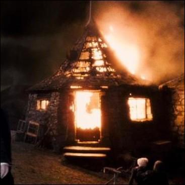 Le sortilège de Feu permet de faire apparaitre des flammes en prononçant l'incantation Incendio. Quel Mangemort utilise ce sortilège contre la maison de Rubeus Hagrid, en quittant Poudlard, après que les serviteurs de Lord Voldemort aient ôté la vie à Albus Dumbledore, dans  Harry Potter et le Prince de Sang-Mêlé  ?
