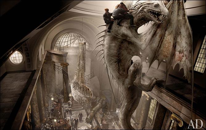 Le maléfice de Répulsion correspond à la formule magique Lashlabask. Cette incantation est employée une seule fois dans la saga  Harry Potter . Hermione Granger l'utilise pour libérer de ses chaines le dragon de Gringotts qui protège les chambres fortes, dans  Harry Potter et les reliques de la mort (Partie II) . Quelle est l'espèce de ce dragon ?