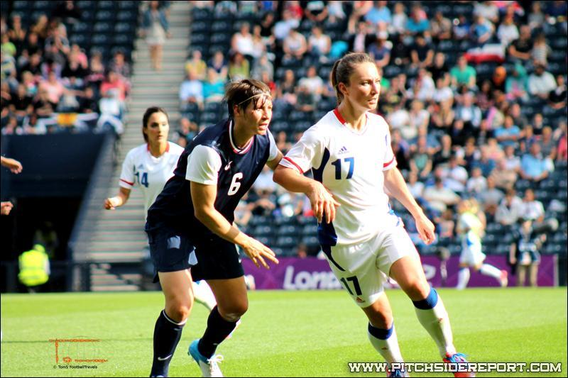 Quel était le score final lors du match aux JO de Londres contre la France ?