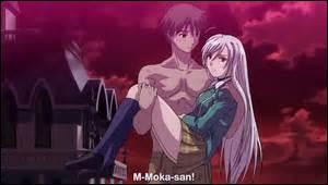 Moka en vampire aime-t-elle Tsukune ?