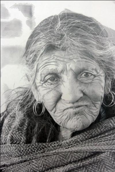 L'artiste qui a réalisé ce portrait est écossais et s'appelle Paul Cadden, de quoi s'agit-il ?