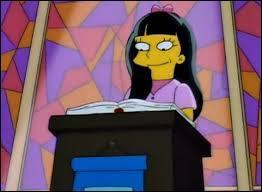 Le révérend Lovejoy a une fille délinquante, comment s'appelle-t-elle ?