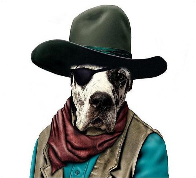 Une démarche inimitable, dans de nombreux westerns !