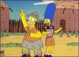 Quelle figurine d'animal permet à Homer et à sa famille de gagner un voyage en Afrique ?