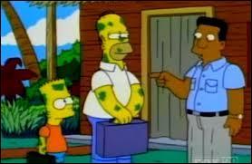 Homer et Bart croient qu'ils ont la lèpre à cause d'une mauvaise blague de Lisa. Où Flanders les envoie-t-il pour les faire soigner ?