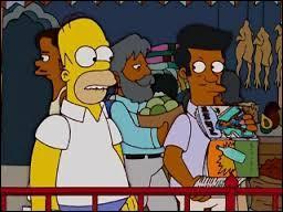 Quand Homer est muté en Inde, il recherche le cousin d'Apu afin qu'il l'aide. Comment se prénomme-t-il ?