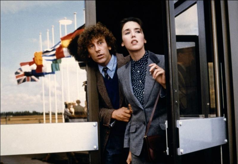Qui partageait l'affiche avec Isabelle Adjani dans le film  Tout feu tout flamme  ?