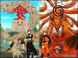 Naruto et Gaara sont deux réceptacles.