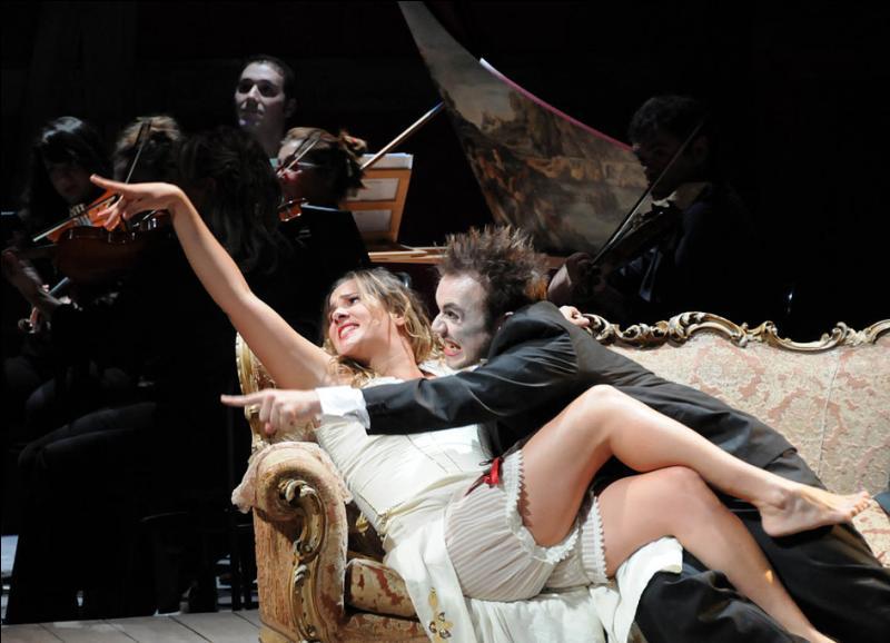 Quelle est l'origine de l'histoire de l'opéra  La servante maîtresse  de Pergolèse ?