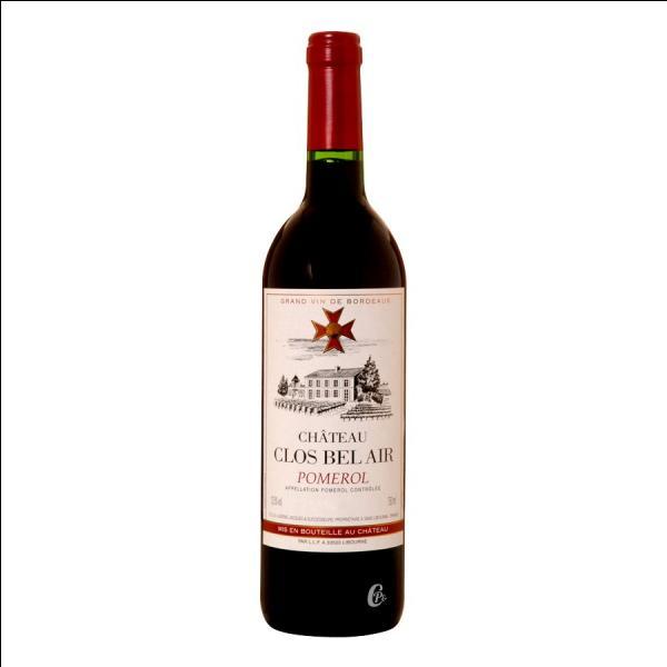 Le pomerol est un vin de quelle région ?