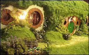Au début, comment les nains retrouvent-ils la maison du Hobbit ?