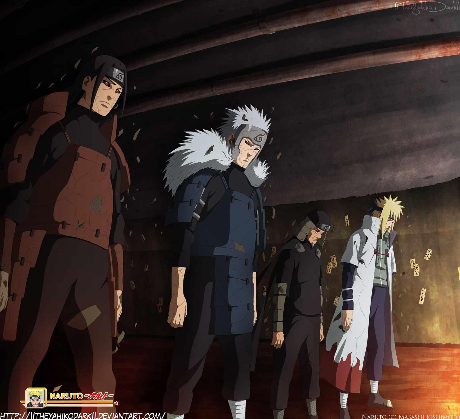 Hashirama Senju : Naruto
