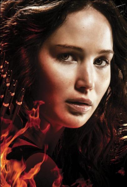 Quelle phrase d'encouragement le père de Katniss adresse-t-il à celle-ci ?