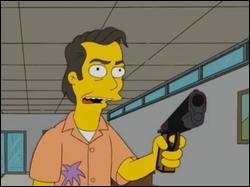 Comment se nomme ce prisonnier qui a insisté pour que Marge vienne lui rendre visite à la prison de Springfield ?