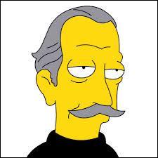 Comment se nomme le cambrioleur, ami d'Abraham Simpson, qui vivait à Springfield dans le château de retraite et qui a volé le plus grand zircon du monde ?