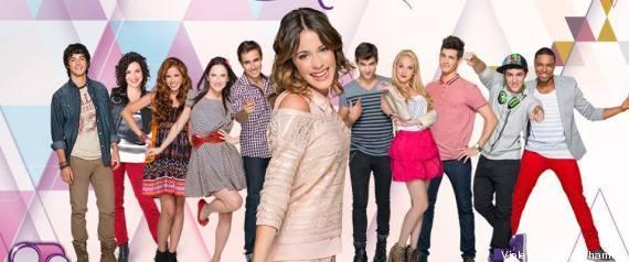 Acteurs et personnages de Violetta