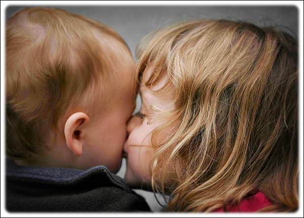 ---------- la joue, je veux y déposer un baiser.