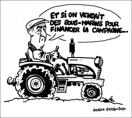 En 1982, lors d'une course cycliste, des paysans mécontents bloquent la course en clamant : Les Français doivent acheter français ! Que leur rétorque Bernard Hinault ?