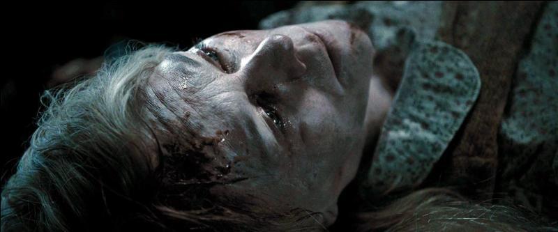 Au début de  Harry Potter et les reliques de la mort (Partie I) , quelle était la matière que Charity Burbage enseignait à Poudlard, avant qu'elle ne soit capturée puis tuée par Lord Voldemort par un Avada Kedavra ?