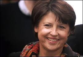 De quel homme politique connu Martine Aubry est-elle la fille ?