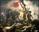 """La révolution de Juillet a inspiré le célèbre tableau """" La liberté guidant le peuple"""". Qui en est l'auteur ?"""