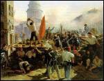 Le peuple exige plus de démocratie et un profond malaise social favorise le mécontentement qui sera fatal au régime. Comment s'appelle la révolution de 1848 qui a mis fin à la monarchie de Juillet ?