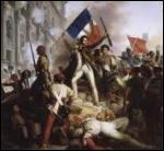 Comment s'appellent les journées d'émeutes qui l'ont mené au pouvoir en juillet 1830 ?