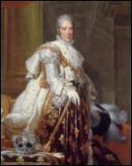 A quel monarque succède-t-il sur le trône de France ?