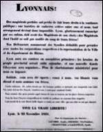 C'est le début de la révolution industrielle et des premiers conflits sociaux. Comment s'appelle la révolte des ouvriers tisserands de Lyon en 1831 ?