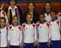 En quelle position est-elle arrivée avec l'équipe de France lors de l'U13 ?