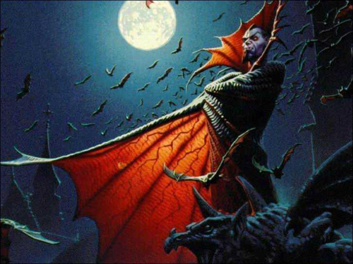 Dracula peut se transformer en chauve-souris, mais aussi :