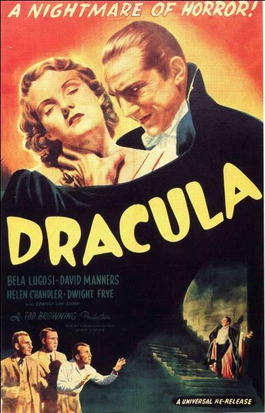 Le premier film officiel sur Dracula fut celui de Tod Browning. En quelle année l'acteur Béla Lugosi tenait-il le premier rôle ?
