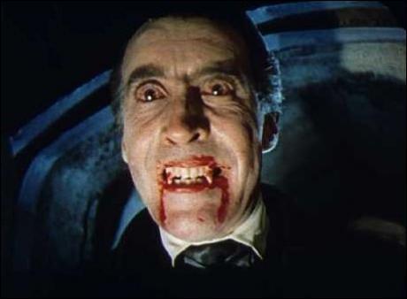 Durant quelle période Dracula fut-il incarné par l'acteur Christopher Lee ?