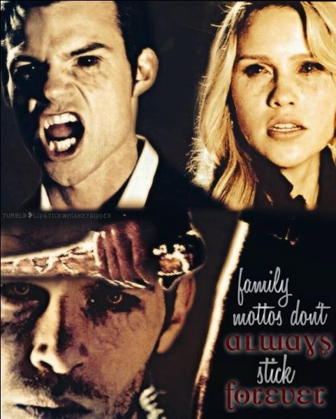 Klaus, Rebekah et Elijah sont :