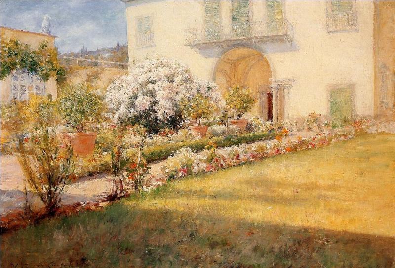 Villa florentine.