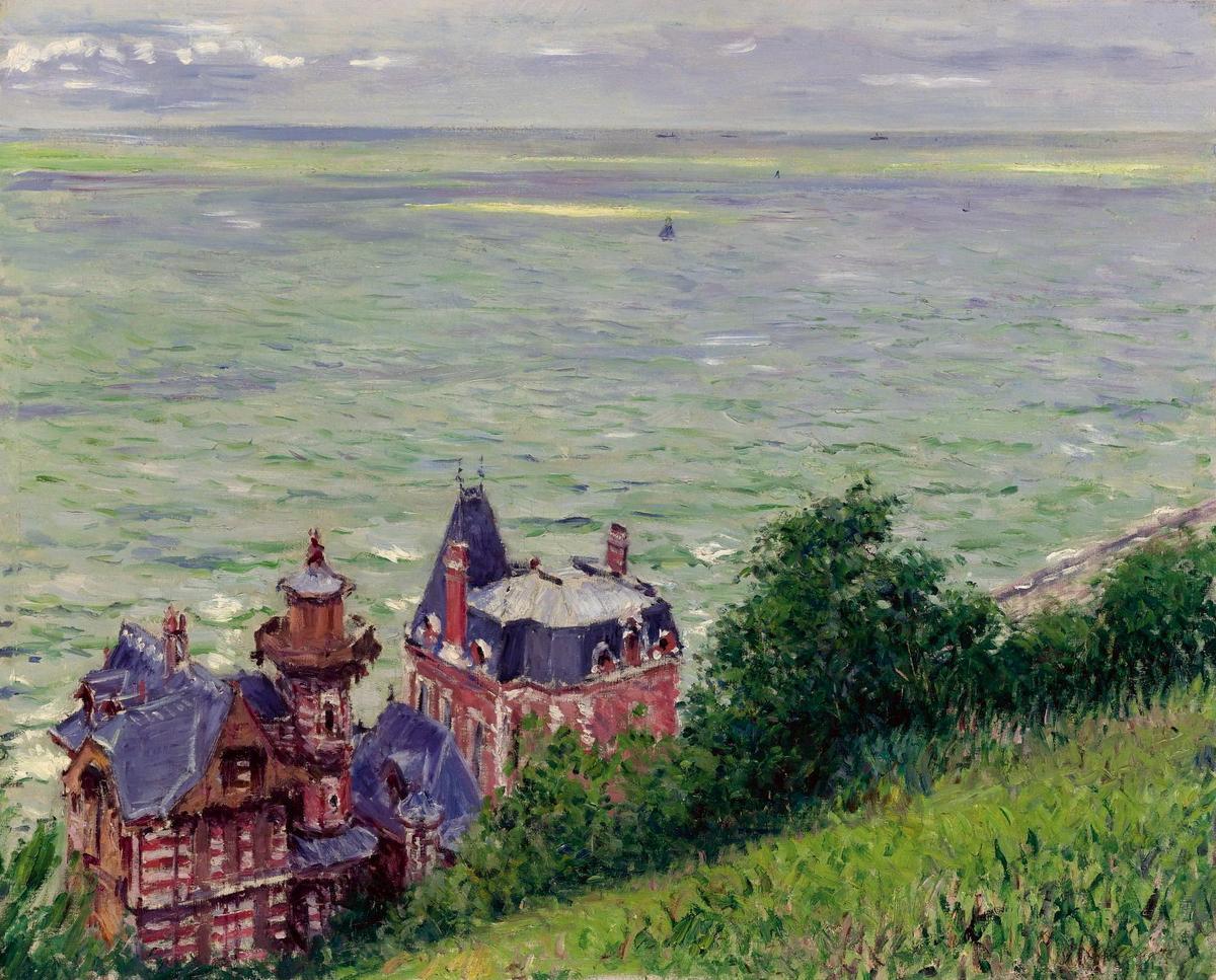 Les villas en peinture