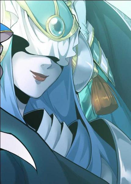 La couleur principale des yeux de Kalandre est...